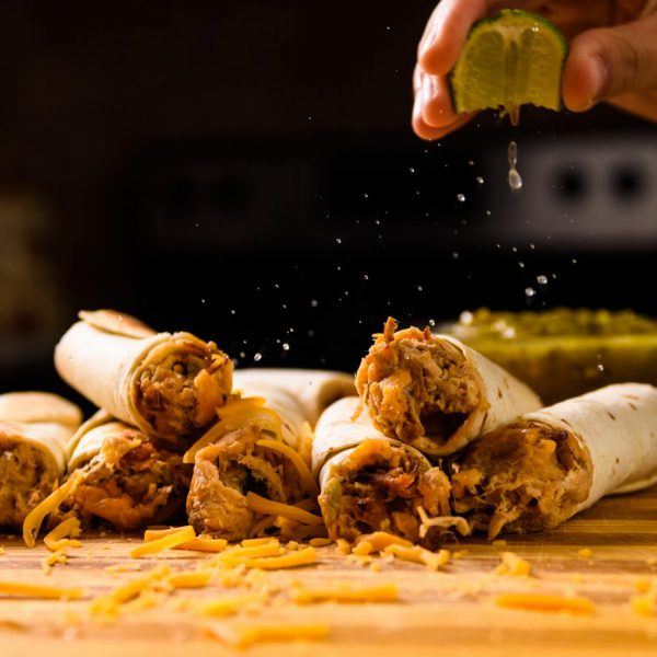 receta Taquitos cerdo