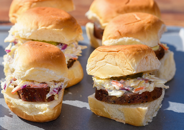 Receta Mini hamburguesas